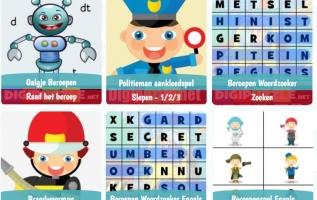 Spelletjes voor de Kinderboekenweek